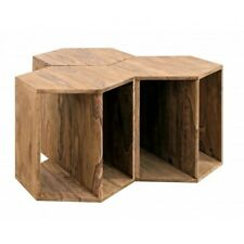 SET3 Small Table Kant, Wooden Sheesham