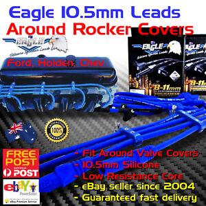 EAGLE 10.5mm Ignition Spark Plug Leads fits SB Chev 350 Around V/Cover std cap