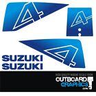 Suzuki Dt4 4hp 2 Stroke Outboard Engine Decalssticker Kit