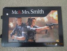 Movie Poster original Mr & Mrs. Smith new