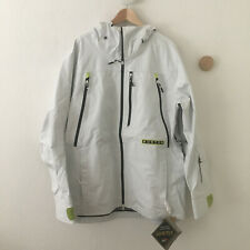 BURTON Gore-Tex 3L Frostner Jacket Snowboard Ski Waterproof White Sz XL $450 NEW