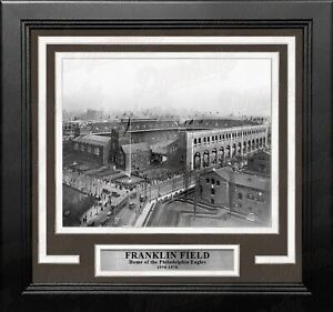 "Philadelphia Eagles Franklin Field 8"" x 10"" Framed Football Stadium Photo"