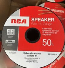 RCA AH1450SR 14 AWG Speaker Wire Spool 50 ft.