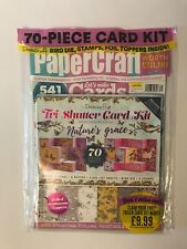 Papercraft Magazine 2019 Issue 131 Dovecraft Cards Kit Mother's Day & Birthday