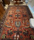 XL authentic Oriental Rug, hand woven in India, 100% wool pili