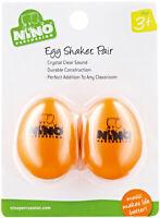 MEINL NINO540OR-2 Egg Shaker (Paar) orange