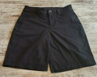 Womens Eddie Bauer Shorts Size 0 Black.  Hiking Fishing