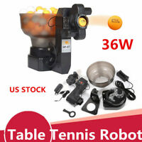 HP-07 Ping Pong Table Tennis Robots Automatic Ball Machine for Training Exercise
