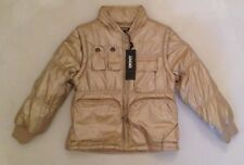 DKNY GOLD PUFFER/ GILET AGE 5 RRP £85 NOW £35
