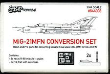 JBr Decals 1/144 MIKOYAN MiG-21MFN FISHBED Resin & Photo Etch Conversion Kit