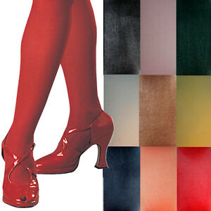 Womans Solid Tights formal dance model clowns stockings fashion adult ballet TV
