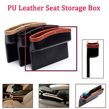 PU Leather Seat Seam Storage Box Slit Pocket Phone Holder Gap Slit Organizer