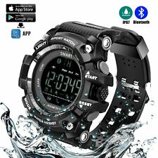 Sports Watch Bluetooth Smart Waterproof Watch without Charging Outdoor Digital