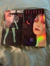 Body Parts and Kolobos VHS
