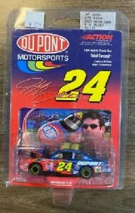 JEFF GORDON 2001 DUPONT 1/64 ACTION DIECAST HOOD OPEN CAR 1/25,200