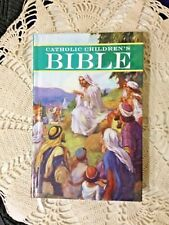 NEW CHILDREN'S CATHOLIC  BIBLE! SUPERB STORIES & ILLUSTRATIONS Excellent Quality