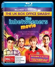 The Inbetweeners Movie  Blu-Ray Region B - New & FREE POSTAGE