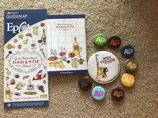 Set of 9 Disney 2017 Epcot International Food and Wine Festival AP Pin Buttons