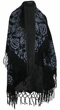 Pia Rossini Andie Wrap Style Waistcoat Cardigan Black