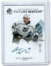 2017-18 SP Authentic SPA - Alex Iafallo Future Watch Auto RC 281/999 - LA Kings