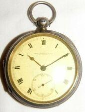 Antike seltene THOMAS RUSSELL & SON 925er Sterling Silber - Spindel Taschenuhr