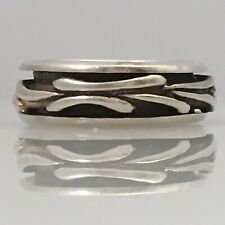 925 Sterling Silver Spinner Ring Size 7