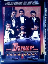 DINER - STEVE GUTTENBERG, MICKEY ROURKE - WARNER BROTHERS - SEALED DVD