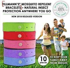 Bandas de mosquito 10 Piezas-Repelente de Mosquitos Pulsera Pulsera-Repelente De Insectos