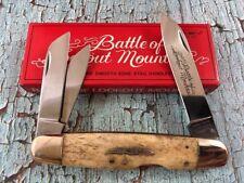 Mint Parker Cutlery Lockback Whittler Battle Of Lookout Mountain Appaloosa Bone