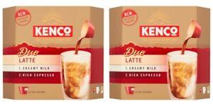 2 x Kenco Duo Latte 6 Pods No Machine Needed milk coffee makes 12 drinks