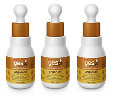 Yes To Miracle Oil Brighten & Condition Argan Oil for All Skin Types 1 Oz (3 Pk)
