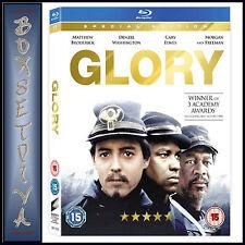 GLORY - Matthew Broderick & Denzel Washington   *** BRAND NEW BLU-RAY **