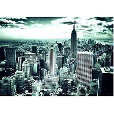 QUADRI MODERNI POSTER DESIGN MANHATTAN SKYLINE NEW YORK CITY 100x140