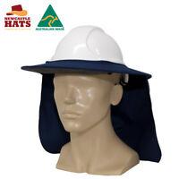 Newcastle Hats Hard Hat Brim UPF50+ Sun Protection