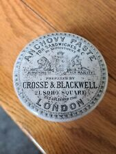 CROSSE & BLACKWELL POT LID AND BASE