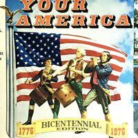 1975 Your America Bicentennial Edition Trivia History Board Game Cadaco