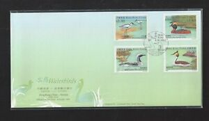 China HONG KONG 2003 FDC Waterbird Stamp Joint Sweden ISSUE Bird
