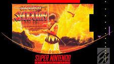 Samurai Shodown For Super Nintendo SNES Fighting 7E