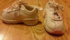 Nike Baby Girls Crib Shoes Sneakers Size 2C Infants White Pink Adorable CUTE