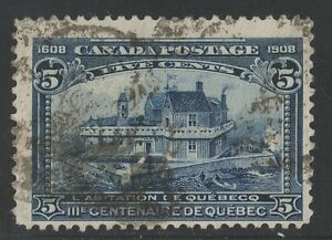 MOTON114 #99 Tercentenary 5c  Canada used