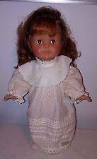 "VTG French Doll Corolle 36cm Red Hair Girl Toddler Doll 14.5"" Made In France"