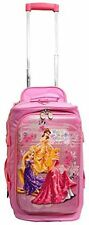 "Disney Luggage by Heys 18"" hybrid Rolling Duffel Princess Watch Me Shine new"