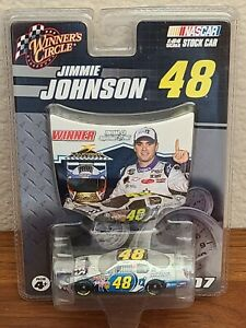 2007 #48 Jimmie Johnson Lowe's Foundation California Win 1/64 Winner's Circle