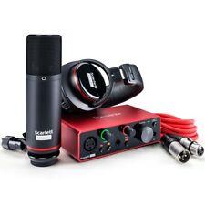 Focusrite Scarlett Solo Studio 3rd Gen bundle Scheda Interfaccia Audio MIDI USB