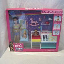 Barbie Skipper Babysitters NAP 'N' NURTURE Nursery Dolls and Playset--NEW (LK)