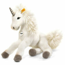 STEIFF Starly Unicorn 35cm EAN 015045 Plush soft toy child gift White New