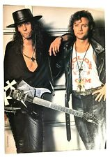 Queensryche / Geoff Tate / Chris Degarmo / Magazine Full Page Pinup Clipping (A)