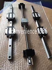 HSR25-500/1500/2200mm Liner rail & RM2505-500/1500/2200 mm & BK20/BF20 Kit