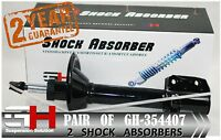 2 BRAND NEW REAR SHOCK ABSORBERS FOR SUBARU LEGACY OUTBACK/GH-354407P