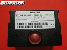 ÖL Feuerungsautomat LOA 26.171B27 LOA26.171B27 Siemens LOA MAN Wolf Steuergerät